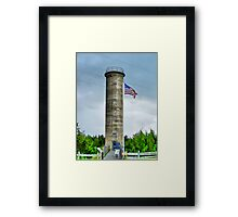 WWII Tower Framed Print