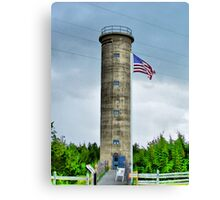 WWII Tower Canvas Print