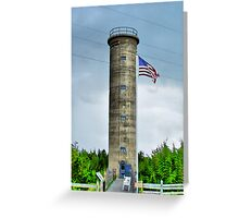 WWII Tower Greeting Card