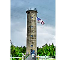 WWII Tower Photographic Print