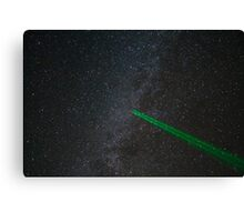 Milky Way Laser Canvas Print
