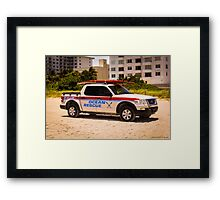 Ocean Rescue Framed Print
