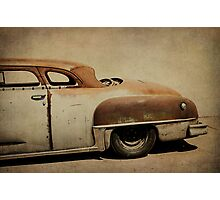Rusty Chrysler De Soto Photographic Print