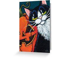 Pumpkin Pete Greeting Card