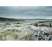 Washed Out Moors Photographic Print
