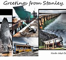 Stanley card. by Esther's Art and Photography