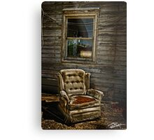 Life From A Single Window Metal Print
