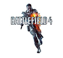 Battlefield 4 Guy words Photographic Print