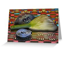 Fennel, Licorice and Primate Greeting Card