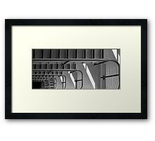 Looking over the edge Framed Print
