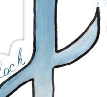 block. #clary's runes Sticker