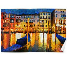 Grand Canal Venice, Italy Poster