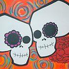 2 Sugar Skulls by tonitiger415