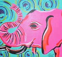 Pink Elephant by tonitiger415