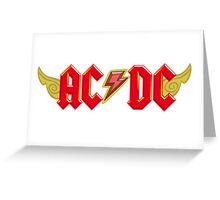 AC/DC meet MLP Greeting Card