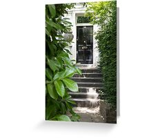 notting hill front door Greeting Card
