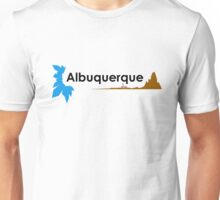 Albuquerque (black) Unisex T-Shirt