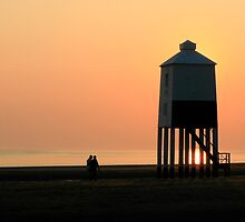 Burnham-on-Sea Sunset by Hannah Welbourn