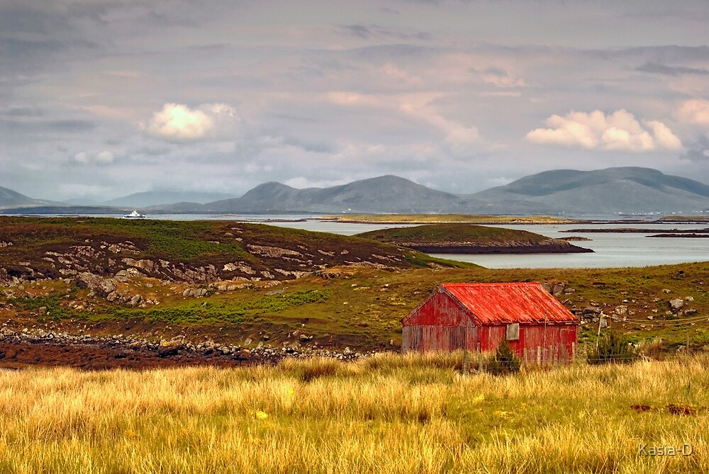 North Uist: The Bothy by Kasia-D