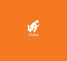 iToilet, orange-icon for people who love reading from iPad by yolan