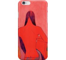 Red neck iPhone Case/Skin
