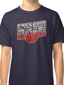 Words of Optimus v2 Classic T-Shirt