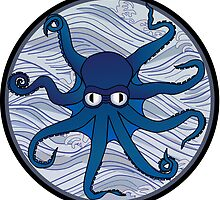 Octopus Blue by mstiv