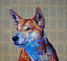'Rise at the bidding, make a stand or move along, (Australian Dingo)' by Cat Leonard