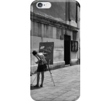 San Cassiano Plaza, Venice iPhone Case/Skin