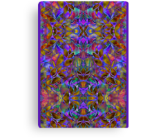 Fractal Floral Abstract Canvas Print