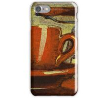 Still life with racing bike iPhone Case/Skin