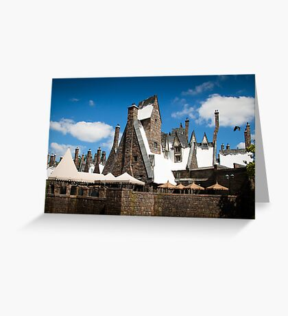 The Village of Hogsmeade Greeting Card