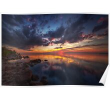 Cirrus Reflections Poster
