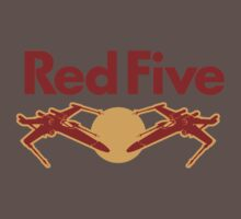 Red Five Baby Tee