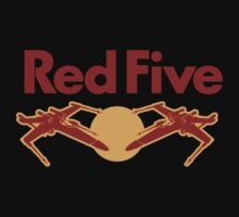 Red Five One Piece - Short Sleeve