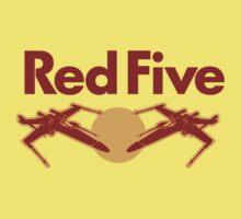 Red Five Kids Tee