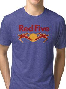 Red Five Tri-blend T-Shirt