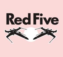 Red Five (Rebel Variant) Kids Tee