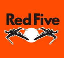 Red Five (Rebel Variant) Kids Clothes