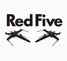 Red Five (Rebel Variant) Baby Tee