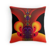 Lucifer's Nightmare Throw Pillow