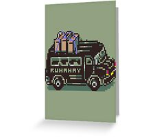 Runaway 5 (Tonzura Brothers) Bus - Earthbound Greeting Card