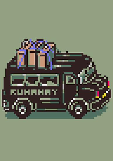 Runaway 5 (Tonzura Brothers) Bus - Earthbound by Studio Momo╰༼ ಠ益ಠ ༽
