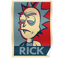 Tiny Rick Poster