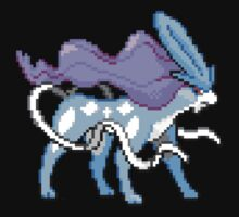 Pixel Suicune by Flaaffy