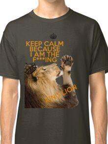 Lion Keep Calm Classic T-Shirt