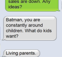 JLA - Living Parents Sticker