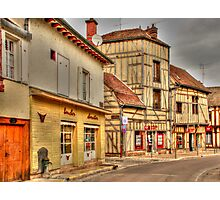 Street in Troyes France Photographic Print