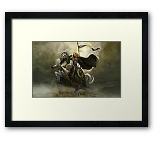 Lord of the Rings - Horsemen Framed Print