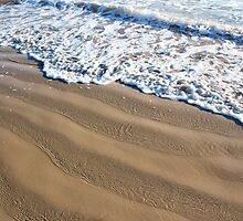 Wave formed sand ripples by CarlaHarvie